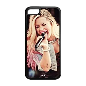 Customzie Your Own Singer Demi Lovato Back Case for iphone5/5s JN5/5s-1525