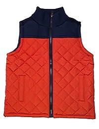 Gymboree Campfire Orange Quilted Vest