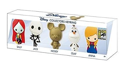 Amazon.com: Disney 2015 SDCC 3d Espuma Key Ring Set (5 ...