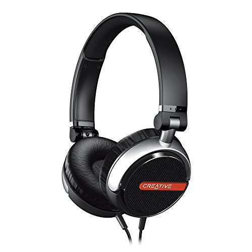 (Creative Flex Ultra-Light On-Ear Headphones (Black))
