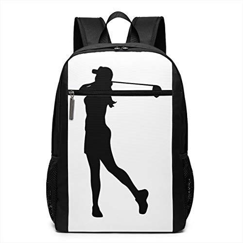 Adult Backpack Golf Female Bookbag Schoolbags Laptop Bag Travel Bag