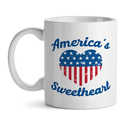 America'S Sweet Heart Popular Nation Quote Cool Unique Popular Office Tea Coffee Gift Cup Mug