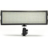 Digital Juice Miniburst 256 LED Video Light Panel for DSLR Cameras & Camcorders with Free Deluxe Carry Bag