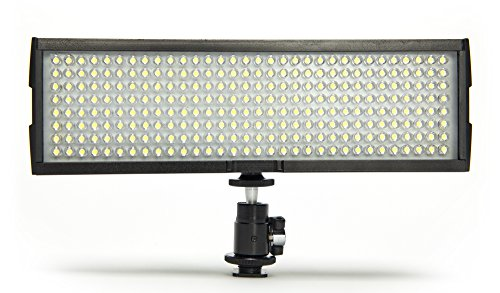 Digital Juice Miniburst 256 LED Video Light Panel for DSLR Cameras & Camcorders with Free Deluxe Carry Bag by Digital Juice