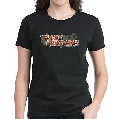 CafePress Transformers Logo Women's Dark T-Shirt - Womens Cotton T-Shirt