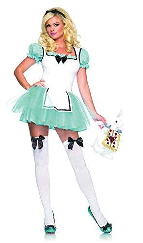 Enchanted Alice Costume - Medium/Large - Dress Size 8-12