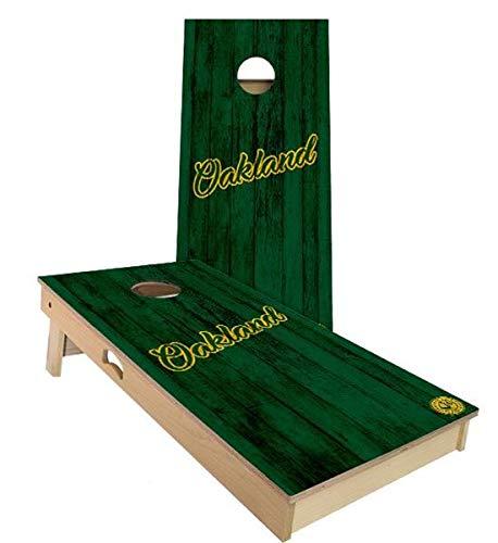 高級ブランド Skip's - Garage Filled オークランド ベースボール コーンホールボードセット - サイズとアクセサリーをお選びください - Bags)|D.付属品 ボード2枚、バッグ8枚など B07N48G4RW A. 2x3 Boards (Corn Filled Bags)|D.付属品 (1) スコアタワーコンボ A. 2x3 Boards (Corn Filled Bags), ロッカショムラ:fc64e15d --- staging.aidandore.com