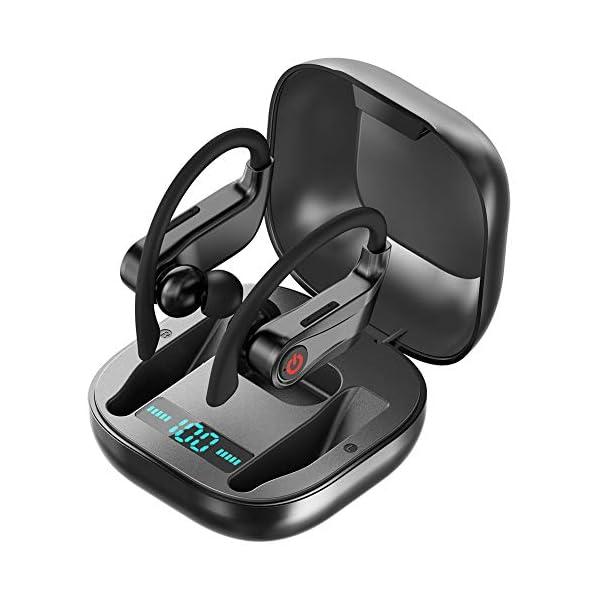 Wireless Earbuds, Bluetooth Headphones True Wireless in Ear Sports Earphones with...