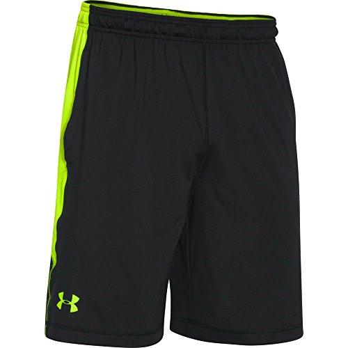 "Under Armour Men's UA Raid Printed 10"" Shorts Large Black"