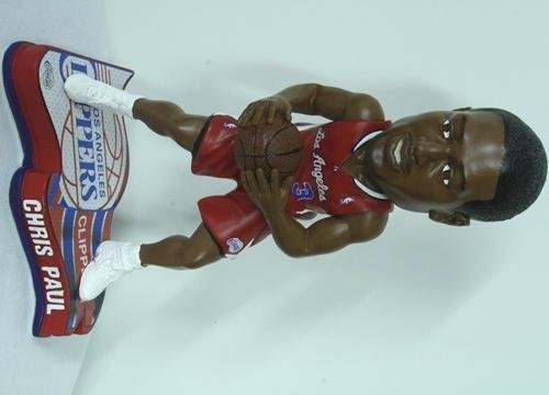 Chris Paul Los Angeles Clippers 2013 Pennant Base Bobblehead Figurine