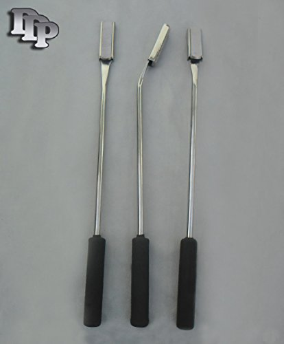 Set of 3 Equine Dental Float Rasp Str,down,up,veterinary DDP Instrments by DDP (Image #1)