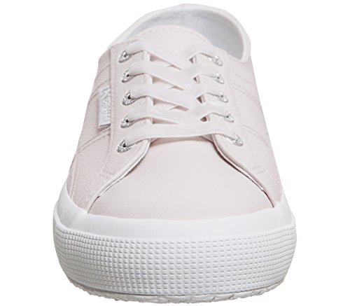 Superga 2750 Animalnetw, Women's Low-Top Sneakers Almost Mauve Leather Exclusive