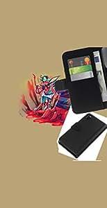 // PHONE CASE GIFT // Moda Estuche Funda de Cuero Billetera Tarjeta de crédito dinero bolsa Cubierta de proteccion Caso Sony Xperia Z3 D6603 / Abstract Cartoon Splatter /