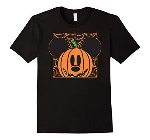 Disney Mickey Mouse Pumpkin Web Halloween T Shirt
