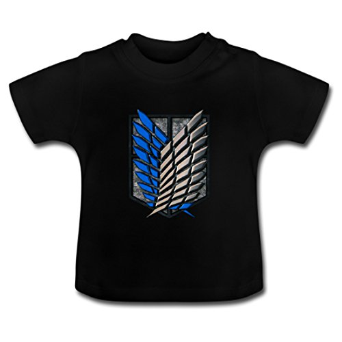 Zyhome Attack On Titan Baby Classic T-Shirt 12M
