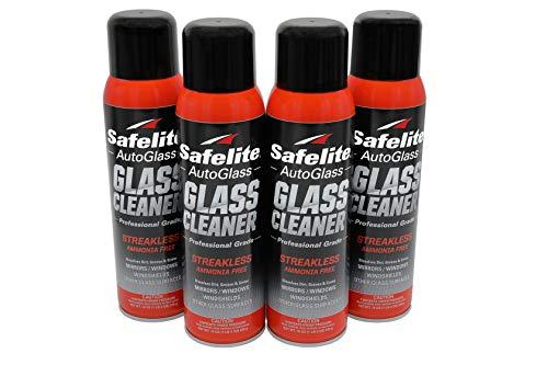 Safelite Glass Cleaner, 19 oz, 4 Pack