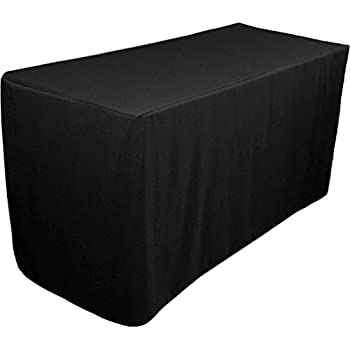 225 & Amazon.com: Folding Table Cover Fitted Tablecloth for 6-Foot ...