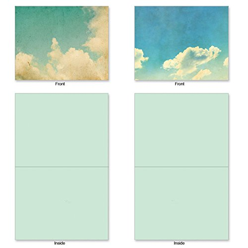M2036 CLOUD Assorted w/Matching Envelopes.