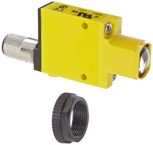 Banner SM31ELQD Mini Beam Photoelectric Sensor, Opposed Mode Emitter, 4-Pin Euro-Style QD Connector, Infrared LED, 10-30 VDC Supply Voltage, 30 m Sensing Range ()