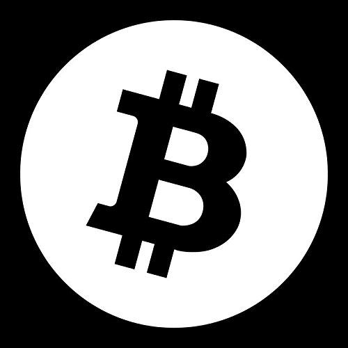 Bitcoin Logo Vinyl Decal Sticker   Cars Trucks Vans Suvs Windows Walls Cups Laptops   White   5 5 X 5 5 Inches   Kcd2165