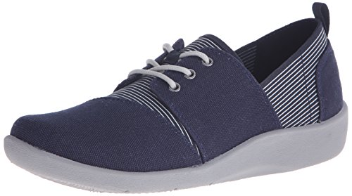 CLARKS Womens CloudSteppers Sillian Joss Walking Shoe Navy YyGoDP38L