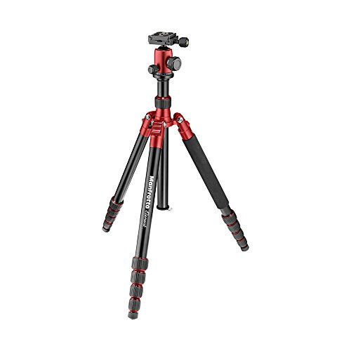 Manfrotto Tripod, Lightweight Element Traveler Big Red (MKELEB5RD-BH)