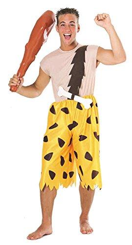 Bamm Bamm Halloween Costumes (UHC Men's Flintstones Bamm Bamm Theme Party Fancy Dress Costume, XL (44-46))