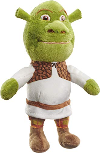 Schmidt Spiele 42713 DreamWorks Shrek Plush Toy Small 18 cm Multi-Coloured