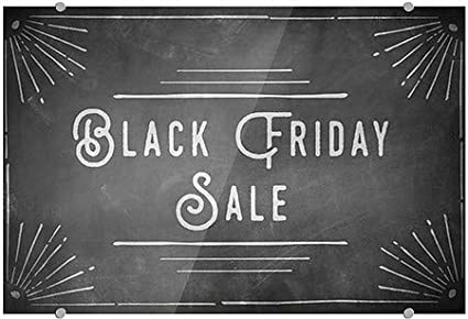 27x18 CGSignLab Black Friday Sale Chalk Corner Premium Brushed Aluminum Sign