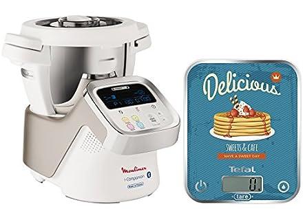 Moulinex HF9001 i-Companion Robot da Cucina connesso + Bilancia da cucina