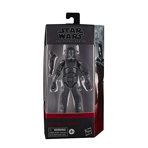 Star Wars The Black Series Elite Squad Trooper Toy 6-Inch Scale Star Wars Toys for Kids Ages 4 and Up The Bad Batch Collectible Figure