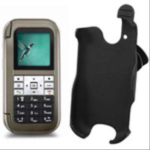 Cellet Kyocera Wild Card / Lingo / M1000 Black Rubberized Elite Holster