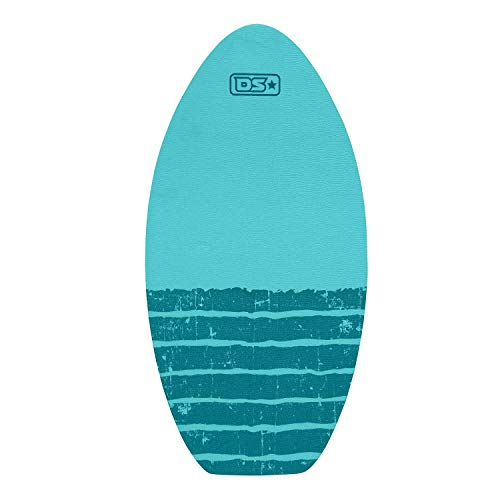 Driftsun 40 Inch Wood Skim Board with Non Slip Traction Pad, Lightweight and Durable, Ideal for All Skill Levels