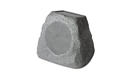 ION Audio Solar Stone | Wireless Solar-Rechargeable Outdoor Speakers (Pair)