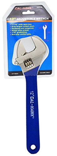 12 Max Steel Adjustable Wrench 90-950