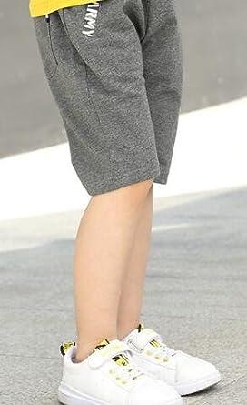 CMC Boys Summer Knits Elastic Waist Print Solid Kenn Length Shorts