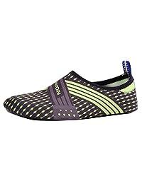 ANOKA Womens Ladies Trainers Sale Summer Outdoor Couple's Flats Beach Pool Sea Swim Surf Soft Bottom Water Shoes