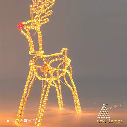 Outdoor Reindeers With Lights in US - 9