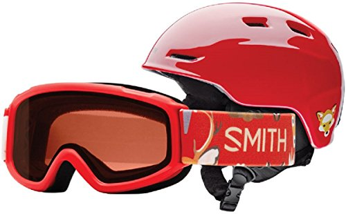 Smith Optics Unisex Zoom Jr / Sidekick Combo Helmet And Goggles, Ire Animal Kingdom - - Ski Goggles Animal