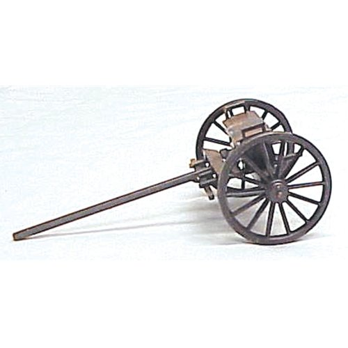 American Civil War Collection - Civil War Toy Soldiers 1/32 Scale Artillery Limber Metal Compatible with W Britain Thomas Gunn Frontline King and Country Toy Soldiers ()