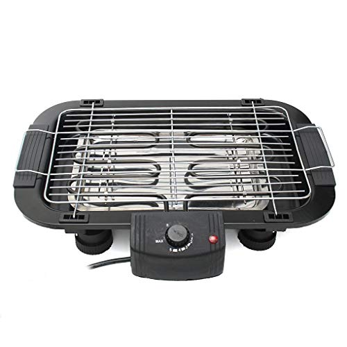 Non Stick Electric BBQ Teppanyaki Barbeque Grill Griddle Table Top Smokeless from Yongse