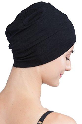 Deresina Women Wrap-Fit Sleep Cap for Hair Loss