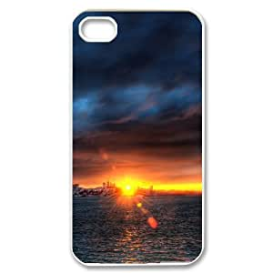 Bay Sunset For Samsung Galaxy S3 I9300 Case Cover Sunset over the Bay for Guys, For Samsung Galaxy S3 I9300 Case Cover Men for Guys [White]