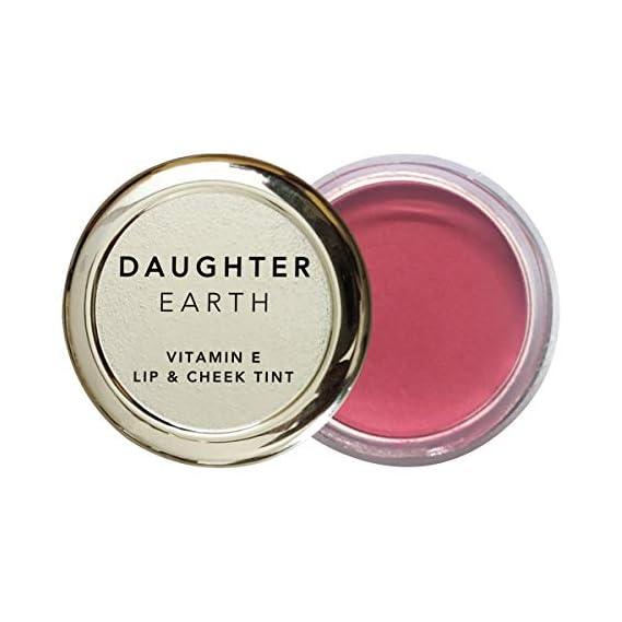DAUGHTER EARTH - 100% Vegan & Natural - Vitamin E - Lip and Cheek Tint - 4.5g