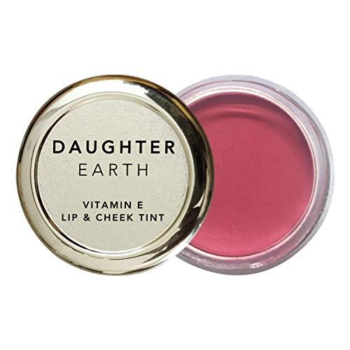 DAUGHTER EARTH – 100% Vegan & Natural – Vitamin E – Lip and Cheek Tint – 4.5g