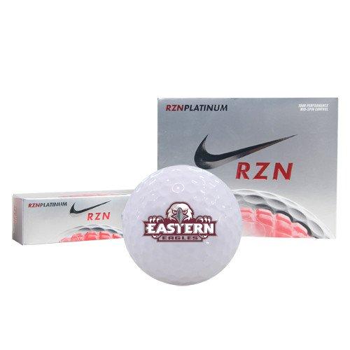 CollegeFanGear Eastern Callaway Chrome Soft Golf Balls 12/pkg 'Official Logo' by CollegeFanGear