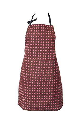 [Siq Nature Hot Chick Polka Dots Cheat Sheet Kitchen Apron] (Ladybug Costume Makeup)