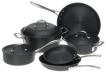 Calphalon ds9dc comercial 9 piezas Anodizado Batería de cocina: Amazon.es: Hogar