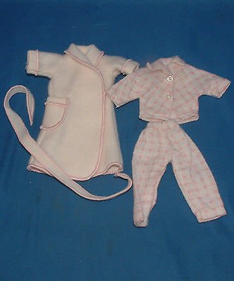Betsy McCall Tonner Doll Pink Pijama & White Robe (Betsy Mccall Outfit)