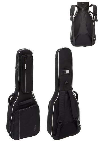 GEWA Prestige 25 Junior Gig Bag para Guitarra Eléctrica (Negro) -tear-proof y repelente al agua.: Amazon.es: Instrumentos musicales
